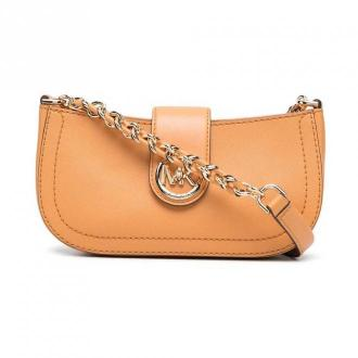 Carmen xs saffiano shoulder bag