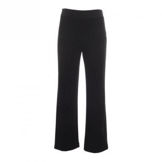 Emporio Armani Flared spodnie Spodnie Czarny Dorośli Kobiety Rozmiar: