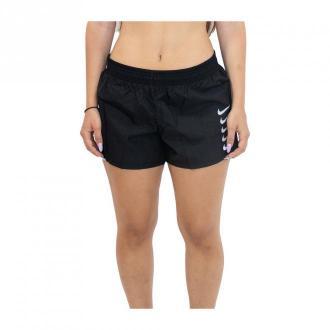 Nike Krótki Swoosh Run Szorty Czarny Dorośli Kobiety Rozmiar: S