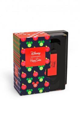 Happy Socks - Skarpetki X DISNEY Holiday Gift (4-PACK)