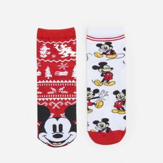 House - Świąteczne skarpetki Mickey Mouse 2-pak - Wielobarwny