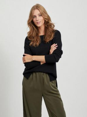 Czarny sweter VILA Ril - XS