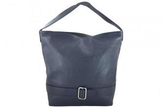 Shopper bag - duże torebki miejskie - Granatowa