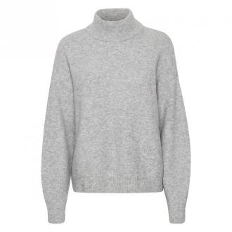Karen by Simonsen CrillaKB sweter Swetry i bluzy Szary Dorośli Kobiety