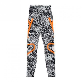 Adidas by Stella McCartney Leggins with Animalier Print Spodnie Szary