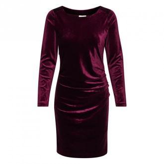 Kaffe sukienka Sukienki Fioletowy Dorośli Kobiety Rozmiar: 2XL