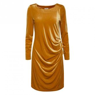 Kaffe sukienka Sukienki Żółty Dorośli Kobiety Rozmiar: XS