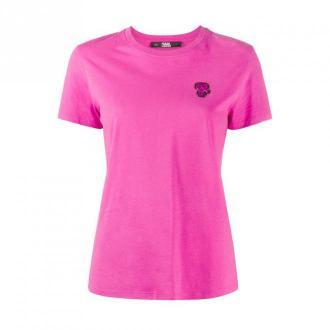 Mini Ikonik Karl patch T-shirt