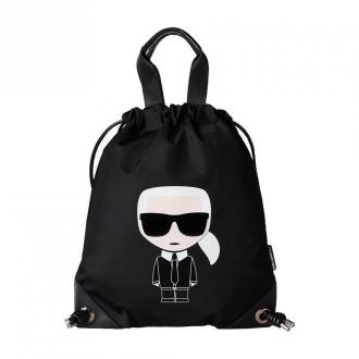 W ikonik nylon flat bag