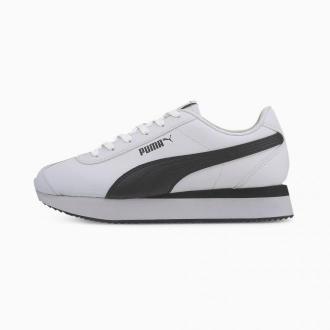 PUMA Damskie Buty Sportowe Turino Stacked, Biały Czarny, rozmiar 35,5, Obuwie