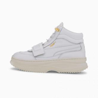 PUMA Damskie Buty Sportowe Deva, Biały, rozmiar 35,5, Obuwie