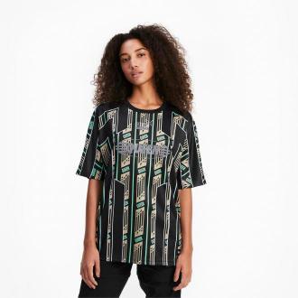 PUMA Damska Sportowa Koszulka QUEEN, Czarny, rozmiar XS, Odzież
