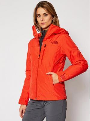 The North Face Kurtka narciarska Descendit NF0A4R1RR151 Czerwony Slim Fit