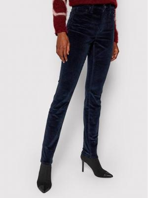 TOMMY HILFIGER Spodnie materiałowe WW0WW30044 Granatowy Skinny Fit