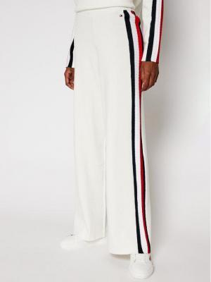 TOMMY HILFIGER Kuloty Side Stripe WW0WW29062 Beżowy Regular Fit
