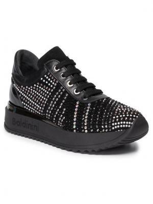 Baldinini Sneakersy 048240PCANV000000FXX Czarny