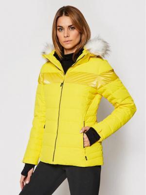 CMP Kurtka narciarska 30W0686 Żółty Regular Fit