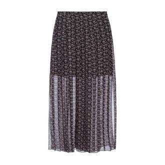 See by Chloé Plisowana spódnica Spódnice Czarny Dorośli Kobiety