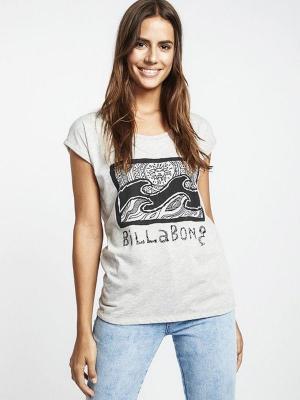 Billabong ALL NIGHT ASH HEATHER t-shirt damski - S
