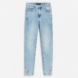 Reserved - Jeansowe spodnie slim fit - Niebieski