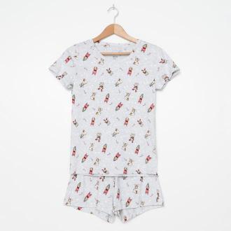 House - Świąteczna piżama dwuczęściowa - Wielobarwny
