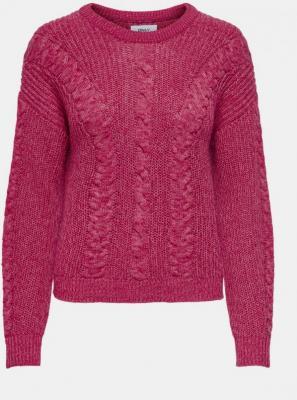 Ciemnoróżowy sweter ONLY Rosie - XS