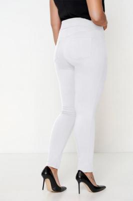 SYDNEY WHITE modne spodnie plus size : Rozmiar - 60/62