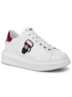 KARL LAGERFELD Sneakersy KL62530 Biały