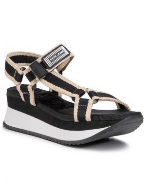Pepe Jeans Sandały Fuji River PLS90465 Czarny