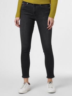 Tommy Jeans - Spodnie damskie – Nora, szary