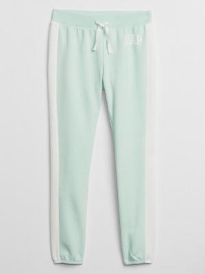 GAP turkusowe damskie spodnie dresowe z logiem - XS