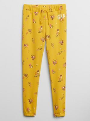 GAP żółty damskie spodnie dresowe z logiem - XS