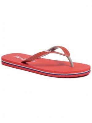 Pepe Jeans Japonki Beach Basic PBS70032 Czerwony