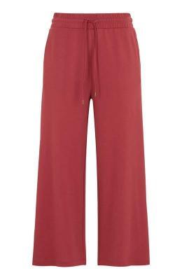 Freequent Spodnie typu culotte zmodalu Yr czerwony