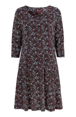 Cellbes D?ersejowa sukienka ze wzorem niebieski w kwiaty