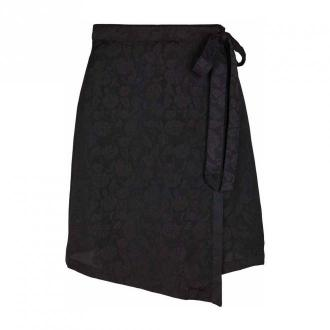 Chosen Skin Alina wrap skirt Spódnice Czarny Dorośli Kobiety Rozmiar: