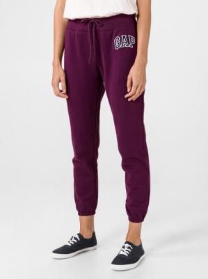 GAP fioletowe damskie spodnie dresowe z logiem - XS