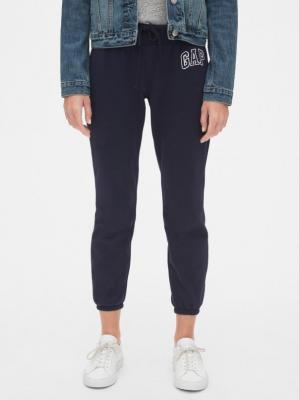 GAP niebieskie damskie spodnie dresowe z logiem - XXS