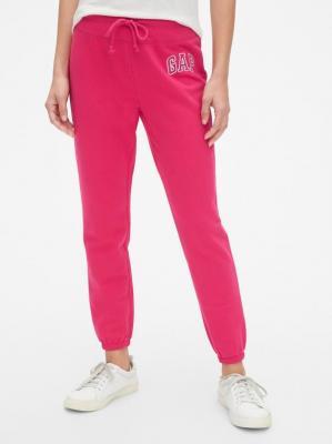 GAP różowe damskie spodnie dresowe z logiem - XS