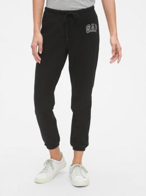 GAP czarne damskie spodnie dresowe z logiem - XXS