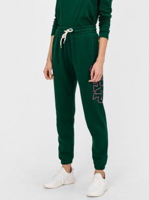 GAP zielone damskie spodnie dresowe z logiem - XS