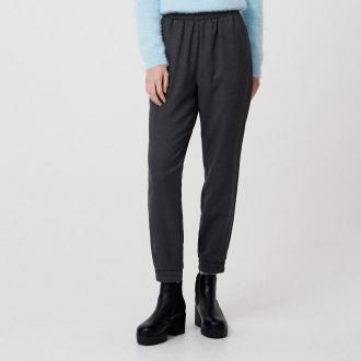 Cropp - Spodnie jogger - Szary
