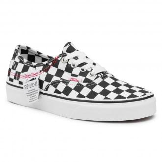 Tenisówki VANS - Authentic Hc VN0A4UUC1AA1  (Diy) Checkerboard/Tr Wht