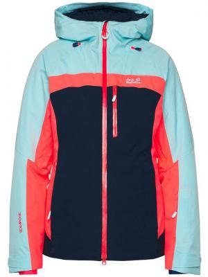 Jack Wolfskin Kurtka narciarska Great Snow 1113551 Granatowy Regular Fit