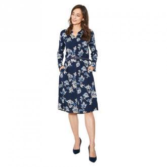 Click Fashion Sukienka Lorca Sukienki Niebieski Dorośli Kobiety
