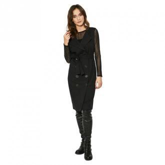 Click Fashion Sukienka Lubeka Sukienki Czarny Dorośli Kobiety Rozmiar: