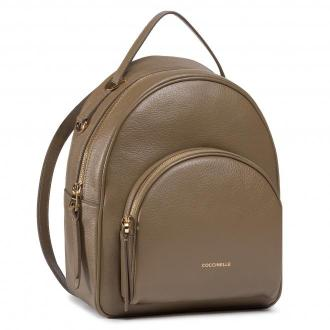 Plecak COCCINELLE - H60 Lea E1 H60 14 01 01 Moss Green G63