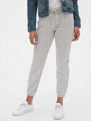 GAP szare damskie spodnie dresowe z logiem - M