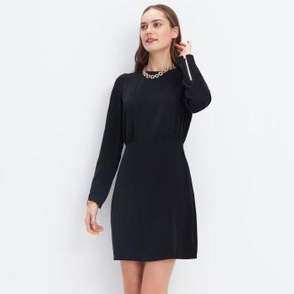 Mohito - Sukienka z zamkami - Czarny