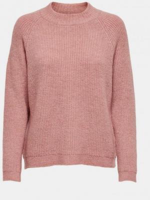 Różowy sweter ONLY Jade - S